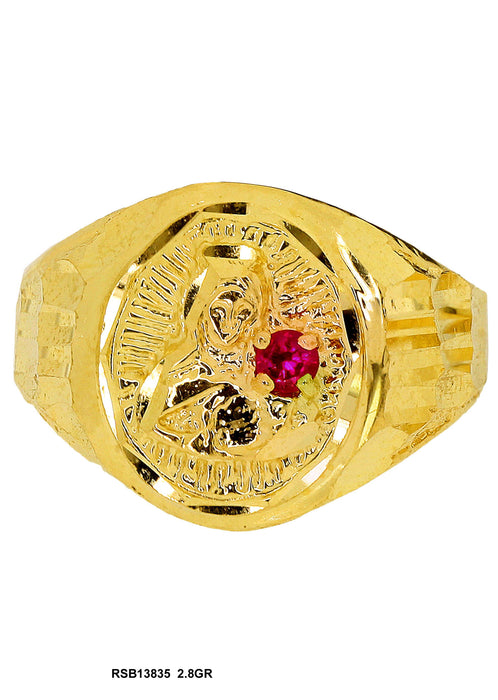 RSB13835 - Saint Barbara Ring