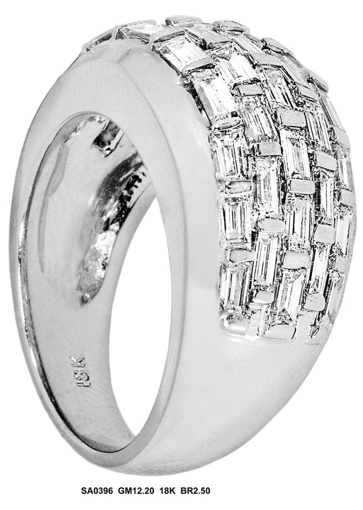 SA0396 - 18K Diamond Ring