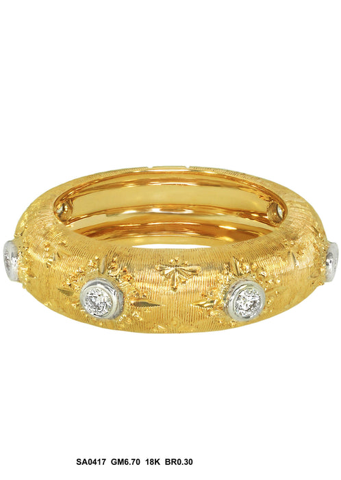 SA0417 - 18K Diamond Ring