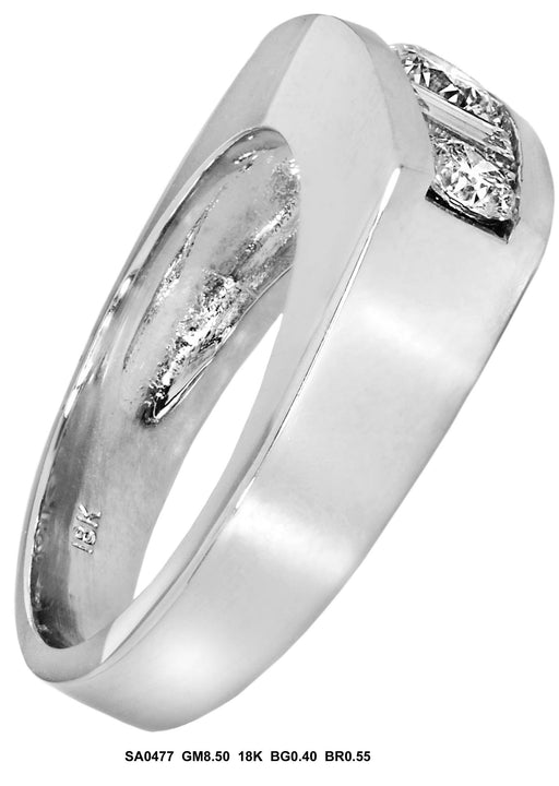 SA0477 - 18K Diamond Ring