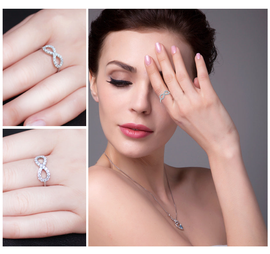 Silver Ring New Fine Jewelry