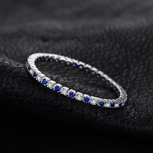Wedding Band Ring 100% 925 Sterling Silver Jewelry Newest Ring For Women