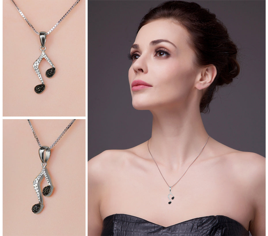 Pendant Necklace For Women Pure 925 Sterling Silver Not Include A Chain