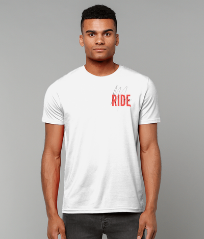 Ride More Script Tee