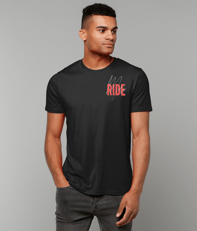 Ride More Tee Black