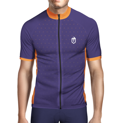 Positive Jersey - Burple / Orange - The Tempests Store