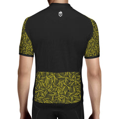 Triangles Jersey - Black / Yellow - The Tempests Store