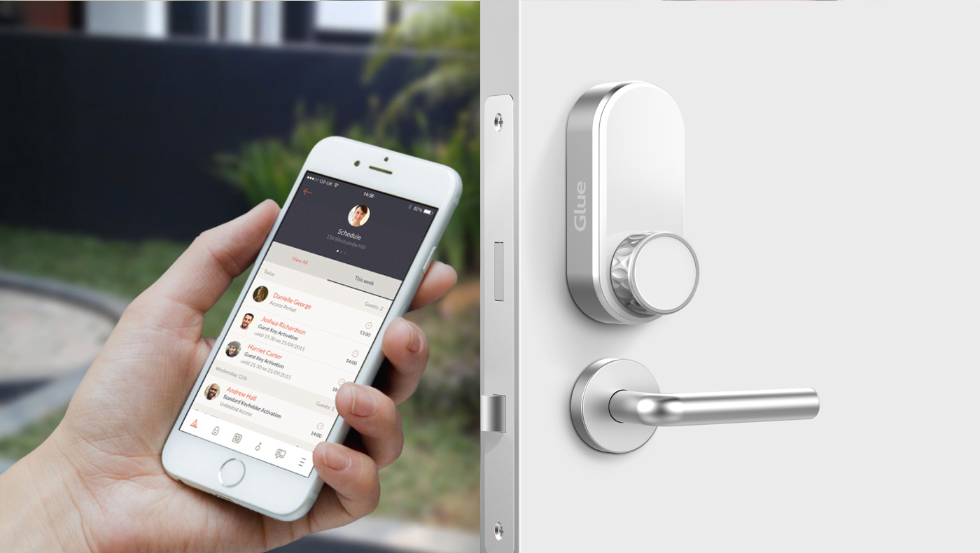 Glue   Glue - The Smart Lock for your Smart Home