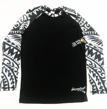 Rash Guard/Sun Shirt - Women's Samoan Village