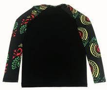 Rash Guard/Sun Shirt - Rasta