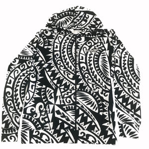 Hoodie - Zip Up - Samoan Village