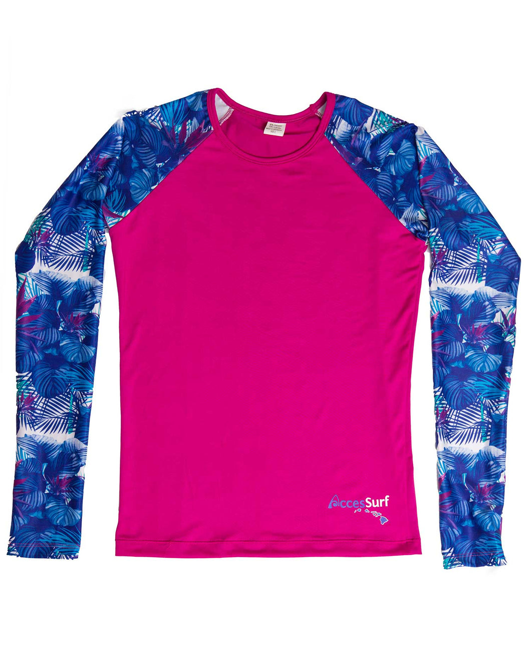 Rash Guard /Sun Shirt- Fuchsia