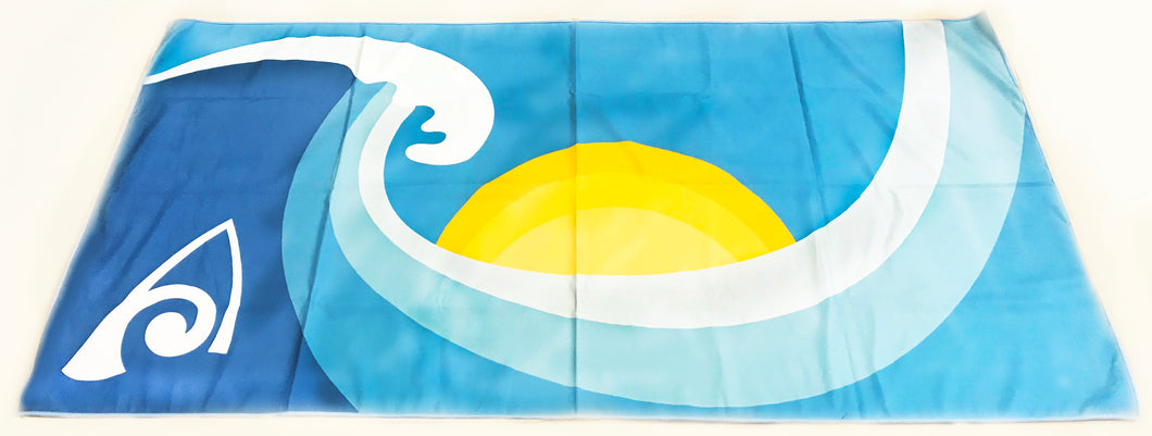 Towel- Microfiber Sun and Wave