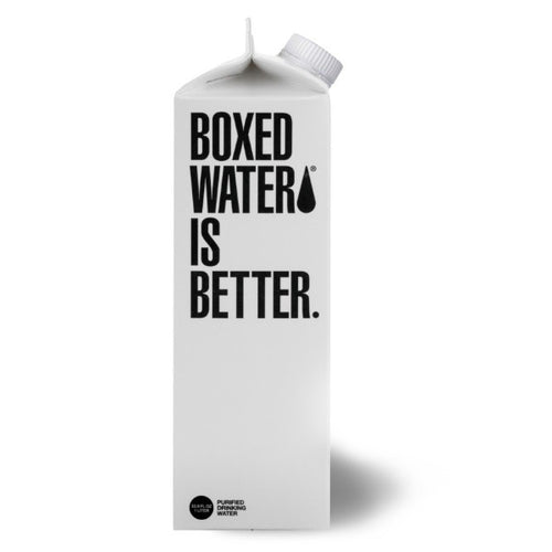 Boxed Spring Water