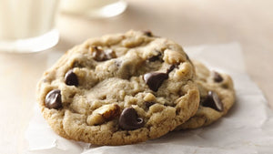 Fresh Baked Chocolate Chip Cookie