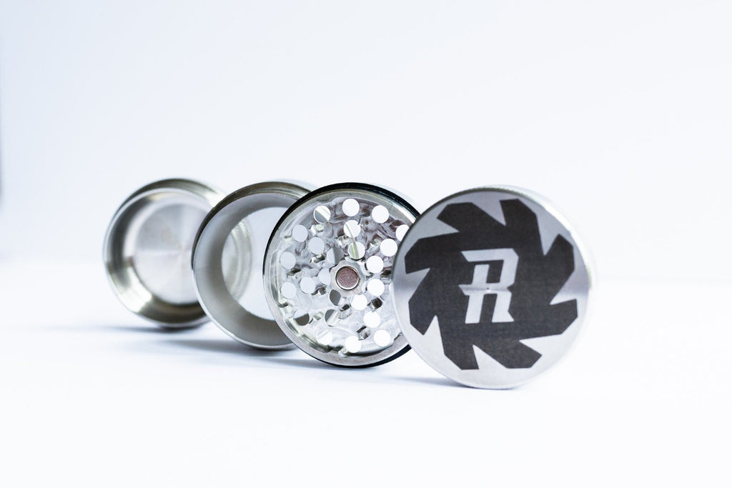 4 Piece Stainless Steel Herb Grinder