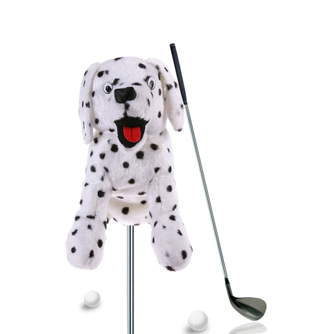 1PCS Golf Club Head Cover Plush Cute Cartoon Dog/Fish/Rose