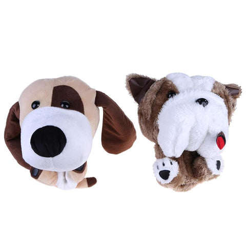 2 Styles Cute Animal Golf Club Protective Head Cover for 460CC No.1 Driver Wood Golf Accessories