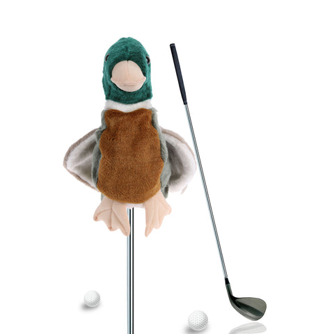 2017 New Plush Cartoon Bird Breakage-proof Golf Club Headcover Bar Head Protection Covers ClubTraininng Golf Accessories