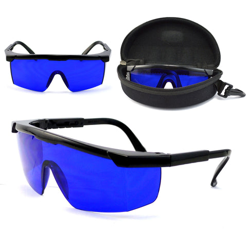 Professional Golf Ball Finder Glasses Eye Protection Golf Accessories Blue Lenses Sport Glasses With Case
