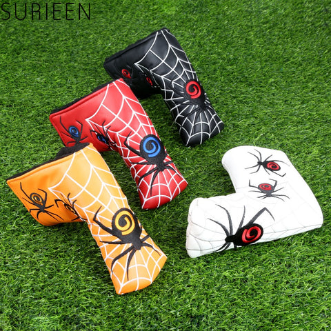 Spider Web Golf Blade Putter Cover Head Cover For Scotty Cameron Odyssey TaylorMade