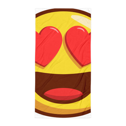 Smile Emoji Summer Beach Towel