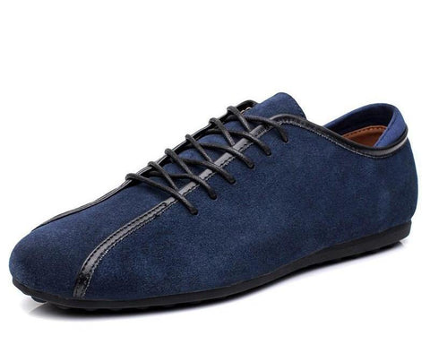 Men's New Genuine Nubuck Leather Casual Shoes