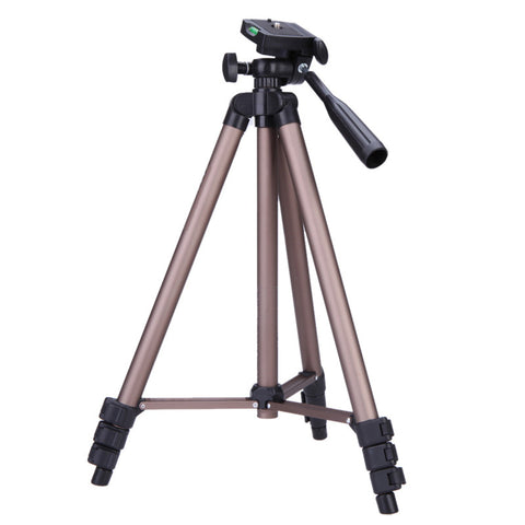 Portable Lightweight Aluminum Camera Tripod with Rocker Arm Carry Bag for Canon Nikon Sony DSLR Camera Camcorder
