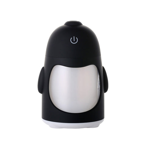 Penguin Design Mini Ultrasonic Mist Aroma Humidifier
