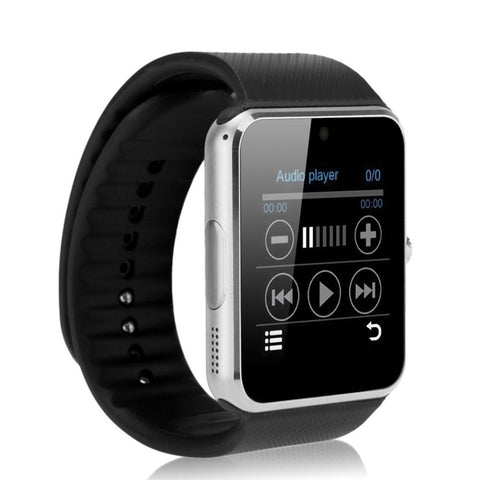 GT08 Bluetooth Smart Watch with SIM Card Slot and 2.0MP Camera