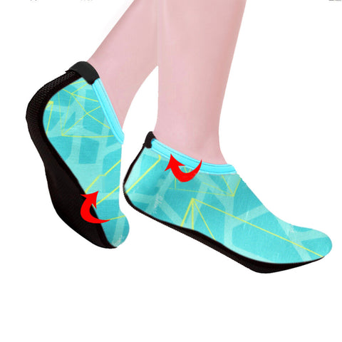 Unisex Outdoor Waterproof Colorful Yoga or Beach Shoes