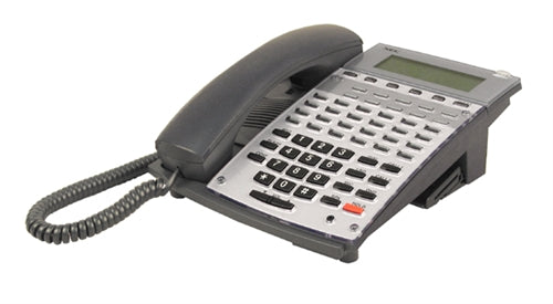NEC Aspire 34 Button Display Telephone Black Stock # 0890045  IP1NA-24TXH   Factory Refurbished