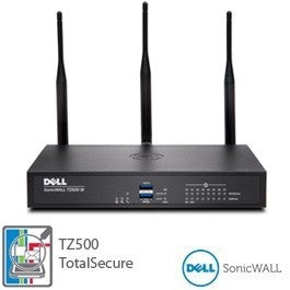 DELL SONICWALL TZ500 WIRELESS-AC TOTALSECURE 1YR, Part# 01-SSC-0446