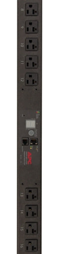 APC - Rack PDU, Metered, Zero U, 20A, 120V, (24) NEMA 5-20R - Part# AP7830