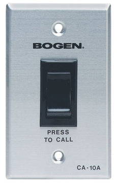 BOGEN CALL-IN SWITCH WITH SCR 2-POSITION  -  CA10A  NEW