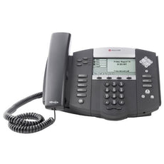 Polycom 2200-12560-001 SoundPoint IP Corded VoIP Phone, Stock# 2200-12560-001