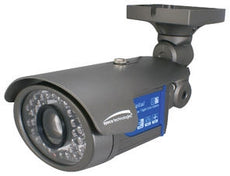 SPECO VL7038IRVF Day/Night Weatherproof Color Bullet Camera,63 IR LEDs,w/2.8-12mm VF Lens, Stock # VL7038IRVF