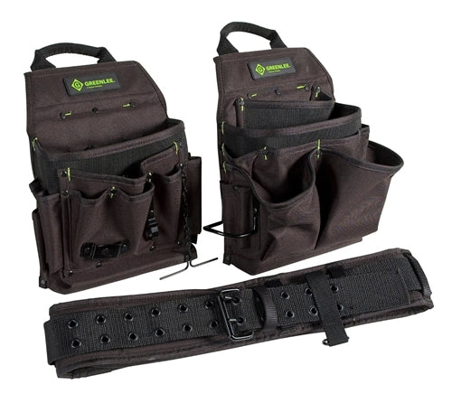 Greenlee POUCH/BELT COMBO 3PC ~ Cat #: 0158-16