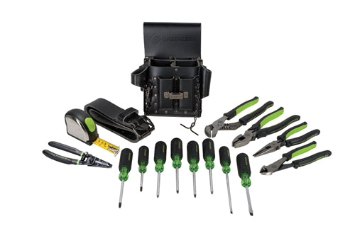 Greenlee ELECTRICIANS KIT 16PC-METRIC ~ Cat #: 0159-24