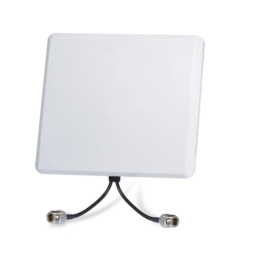 PLANET ANT-FP15AD 5GHz 15dBi Flat Panel Dual Polarization Directional Antenna (N-Type female connector x 2), Stock# ANT-FP15AD