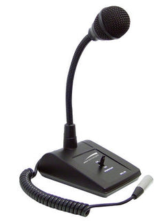 SPECO MHL5S Gooseneck Adjustable Desktop Microphone, Stock# MHL5S