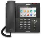 VTech ErisTerminal Corded IP Phone/Color/TouchScreen, GM (Gun Metal), Stock# VSP861 - NEW