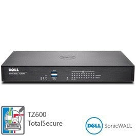 DELL SONICWALL TZ600 SECURE UPGRADE PLUS 2YR, Stock# 01-SSC-0222