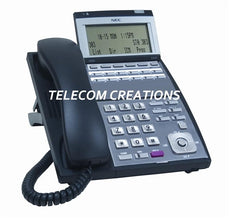 NEC IP-12e  IP 12-Button Display Phone Black ~ Stock# 0910064  IP3NA-12TIXH  ~ Refurbished