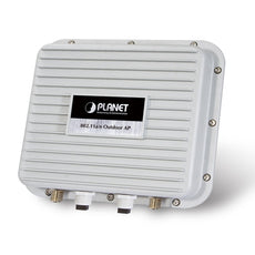 PLANET WNAP-7350 5GHz 802.11a/n 300Mbps Wireless LAN Outdoor AP/Router with Industrial IP67 Enclosure (2x N-type connector; PoE Injector included ), Stock# WNAP-7350