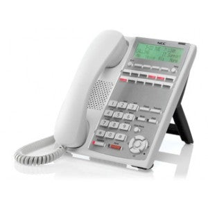 NEC SL1100 ~ 12-Button Full-Duplex Backlit Display Digital Telephone - WHITE - Part# 1100060 ~~  NEW ~~   Model#  IP4WW-12TXH-B-TEL (NEW Part# BE110269)