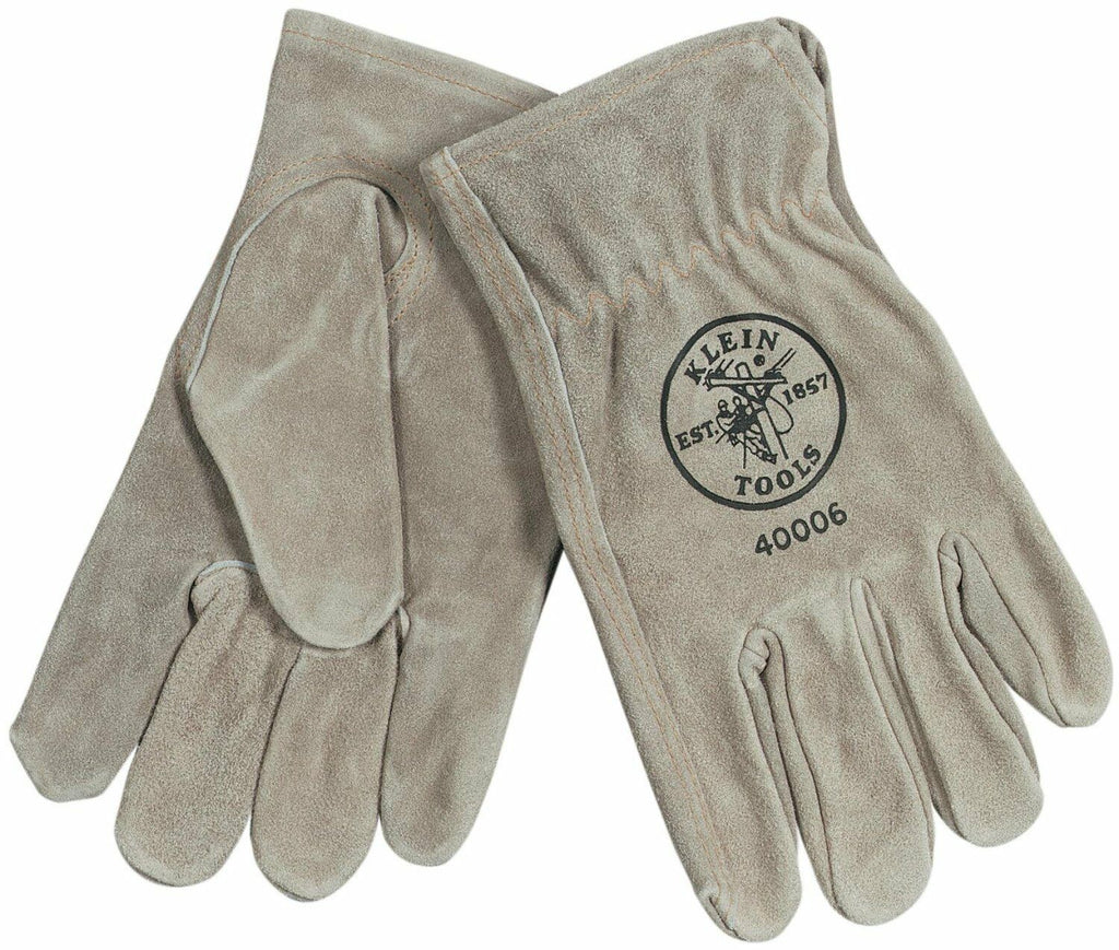 Klein Tools Cowhide Driver's Gloves Small, Stock# 60103-3
