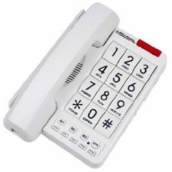 NORTHWESTERN BELL Big Button Speaker Braille Analog Telephone with 13-Number Memory - Part# 20600-1B  NEW