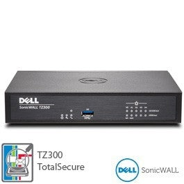 DELL SONICWALL TZ300 TOTALSECURE 1YR, Stock# 01-SSC-0581
