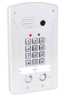 Tador CodePhone KX-T918-AVL 2PL Door Phone for Analog PBX Extension, Weather Resistance, Anti Vandal, Anodize, Water Proof. Stock# KX-T918-AVL 2PL ~ NEW